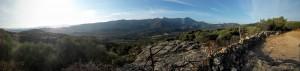 Trail running in Corsica