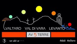 logo della gara AV5T Valtaro - Levanto