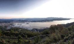 Panorama di La Spezia dalle Cave della Castellana