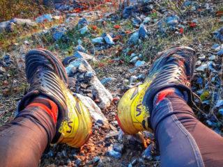 Un paio di scarpe La Sportiva Akasha