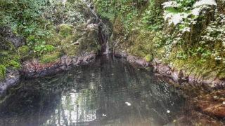 laghetto lungo le cascate di Casella