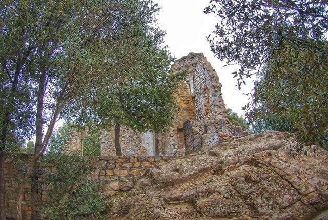 Veduta dell'Eremo di Sant'Antonio del Mesco