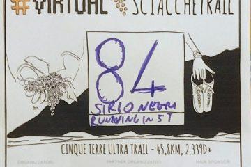 Pettorale personalizzato del Virtual Sciacchetrail